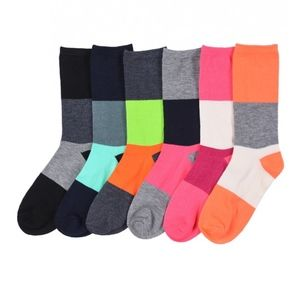 PACK OF 12 : Mid-Rise Socks Set 70501_FLOW